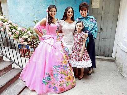 El personaje de Renata Notni celebró su fiesta de 15 Años en el drama 'Qué Bonito Amor'. Foto: Reforma