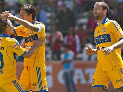 Tigres tuvo un día de campo en la capital mexiquense. Foto: Mexsport
