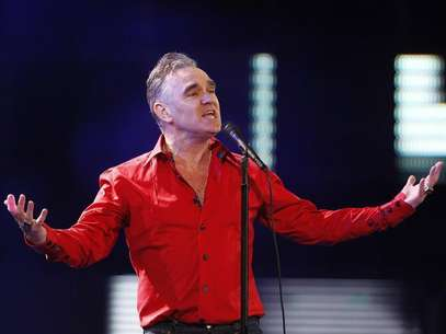 British singer-songwriter Morrissey performs during the International Song Festival in Vina del Mar city, about 121 km (75 miles) northwest of Santiago, February 24, 2012. Foto: Eliseo Fernandez / Reuters