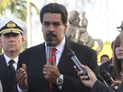 """Maduro aseguró que las medidas economicas buscan """"fortalecer la economía venezolana y blindar el proceso cambiario ante cualquier fraude"""". Foto: EFE en español"""