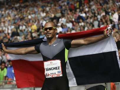 Sánchez sorprendió a los favoritos en los Juegos Olímpicos de Londres al imponerse con autoridad en la prueba de su especialidad. Foto: AFP