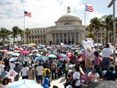El pasado 18 de febrero de 2013 tuvo una lugar una manifestación frente al Capitolio en contra de las leyes para otorgar más derechos a los homosexuales. Foto: AP