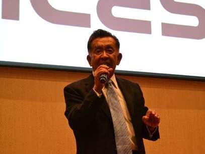Carlos Kasuga Osaka, fundador de la empresa Probióticos Yakult y líder mexicano Foto: CICESE- La Paz