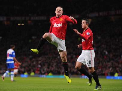 Wayne Rooney marcó el solitario gol para los Red Devils. Foto: Getty Images