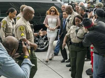 Lindsay Lohan tendrá que rehabilitarse Foto: AP