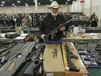 Venta de armas en EEUU. Foto: AP