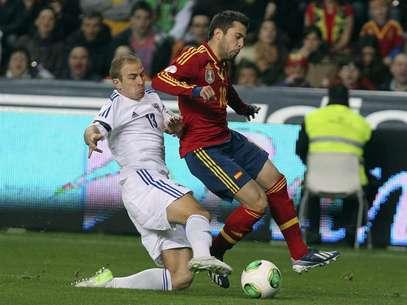 Alba dejó el terreno de juego al minuto 81 de acción por presentar dolencias. Foto: EFE en español