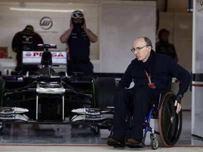 El dueño de la escudería Williams, Frank Williams Foto: Getty Images