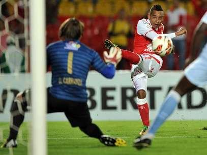 Wilder Medina quedó en el equipo ideal de la última semana de la fase de grupos de la Libertadores. Foto: Terra