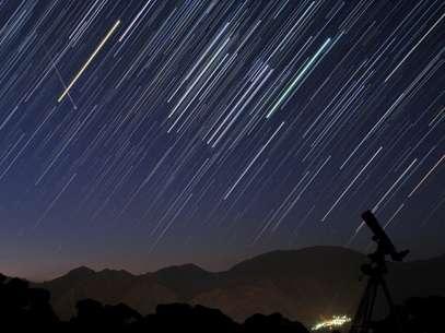 Imagen de archivo de una lluvia de estrellas. Foto: Getty Images
