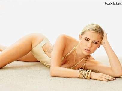 Miley Cyrus compartió en Instagram la foto con la que se corona como la mujer más sexy de la revista Maxim. Foto: Instagram