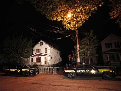 Esta es la casa donde Ariel Castro mantuvo secuestradas durante 10 años a Amanda Berry, Gina DeJesus y Michelle Knight Foto: AFP