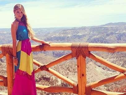 Eiza González compartió fotos de las locaciones donde se grabaron las escenas finales de 'Amores Verdaderos'. Foto: Instagram