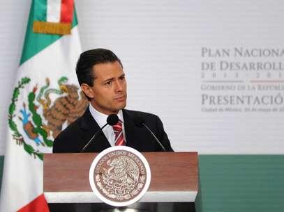 El Plan Nacional de Desarrollo es desde ahora la estrategia general para construir juntos una sociedad de derechos y llevar a México a su máximo potencial, afirmo Peña Nieto. Foto: Presidencia / Terra