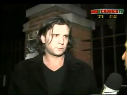 El marido de Panam, dolorido. Foto: Captura TV