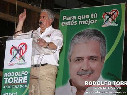 Torre Cantú ya era considerado incluso gobernador virtual de Tamaulipas. Foto: Archivo