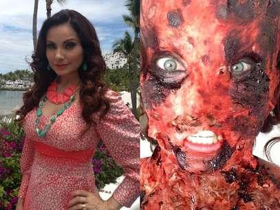 El personaje de Elizabeth Álvarez pagó sus maldades con un trágico final. Foto: Twitter / @cuquitaoficial
