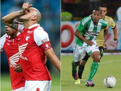 Omar Pérez en Santa Fe y Macnelly Torres en Nacional, serán los encargados de generar fútbol para sus equipos en la final del FPC Foto: Terra
