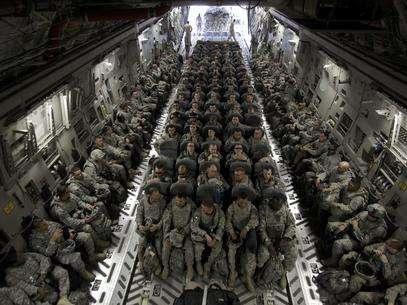 Las tropas de EE.UU. Foto: EFE en español