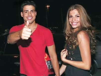 Cauâ Reymond junto a su esposa, Grazi Massafera. Foto: Terra Brasil.