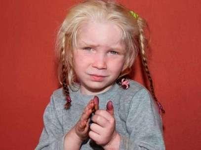 'María' fue hallada en un campamento de gitanos en Grecia. Foto: Reuters en español