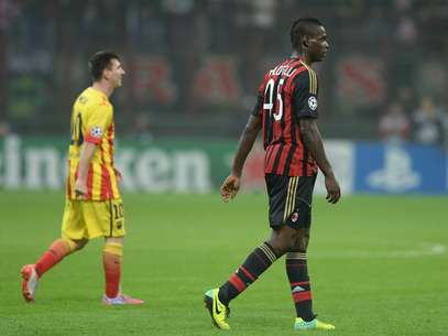 Balotelli no descarta que Messi sea su compañero, ya sea en Barcelona o Milan Foto: Getty Images