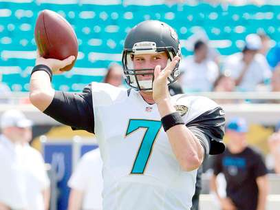 Chad Henne, quarterback de los Jacksonville Jaguars Foto: Sam Greenwood / Getty Images