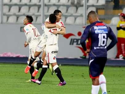 Diego Guastavino anotó su sexto gol en el Descentralizado Foto: Miguel Ángel Bustamante / Terra Perú