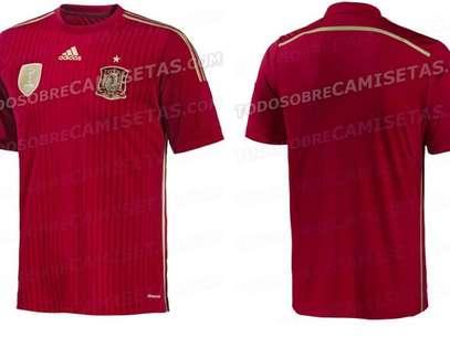 La camiseta hispana tendría dos tonos de rojo. Foto: Reproducción