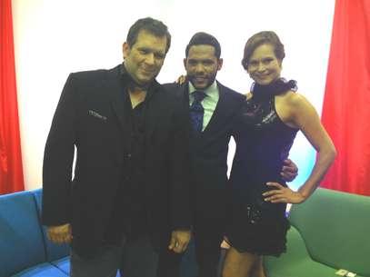 Miguel Ángel Masjuán, Carlos Mejía y Pilar Vargas Foto: Terra/Pilar Vargas
