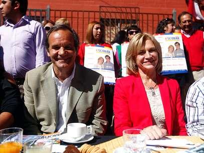 Allamand ha participado en actividades de campaña con Matthei. Foto: Agencia Uno/Archivo