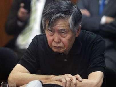 Humala pidió a Fujimori que respete las normas como el expresidente que es. Foto: Terra Perú