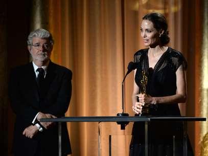 Oscar humanitario para  Angelina Jolie Foto: AFP