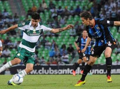 Querétaro vs. Santos Laguna Foto: Mexsport