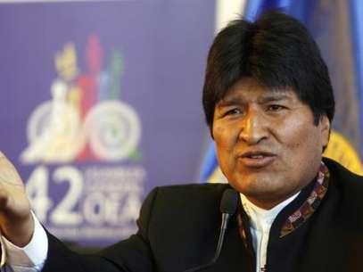 Evo Morales. Foto: AP