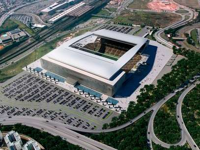 Estadio Arena de São Paulo, in São Paulo (Brazil), will host the opener of the upcoming Brazil 2014 World Cup between the home country and Croatia. It is scheduled for June 12, 2014. Foto: Courtesy of FIFA