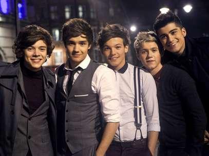 One Direction recibió el apoyo inmediato de la cantante Katy Perry. Foto: Reproducción