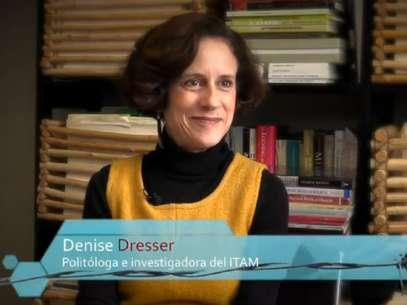 La politóloga Denise Dresser, invitada a Tejemaneje hizo un llamado a la ciudadanía para que en el 2014 defienda los espacios ciudadanos ganados en los medios de comunicación. Foto: Especial / Terra