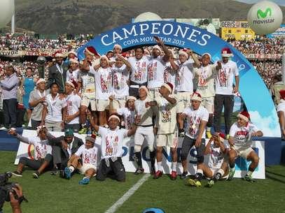 Universitario de Deportes es el actual campeón del fútbol peruano. Foto: Miguel Ángel Bustamante / Terra Perú