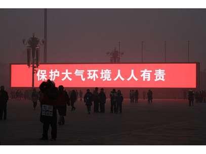 El anuncio de la transmisión del amanecer. Foto: Getty Images