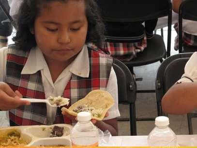 SaludArte busca ofrecer apoyo nutricional a niños de escuelas marginadas. Foto: http://educacion.df.gob.mx