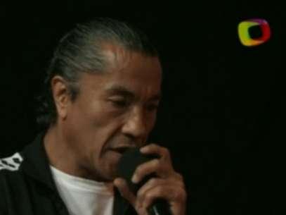Negro Casas al verse imposibilitado para actuar el 21 de marzo en la función. Foto: Especial