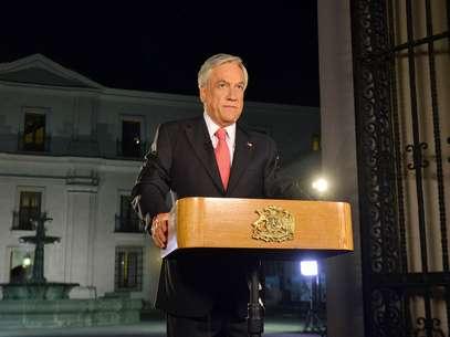 En cadena nacional, el Presidente de la República, Sebastián Piñera, se despidió de la ciudadanía a dos días de entregar el mando. Foto: Presidencia de la República
