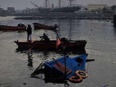 Los habitantes de las zonas costeras del país, debieron evacuar a zonas de seguridad, por el tsunami posterior al terremoto de 8.3 Richter. Foto: Agencia UNO
