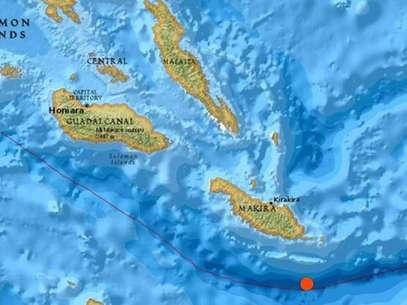 El Servicio Meteorológico deEE.UU.determinó la intensidad del terremoto en la magnitud de 7,6 grados en la escala de Richter. Foto: Difusión