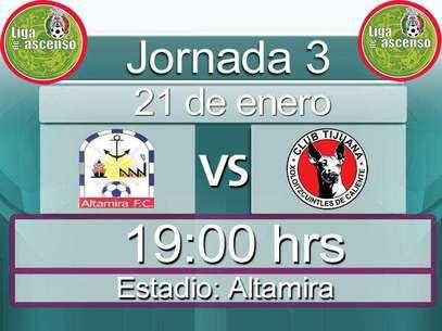 Altamira vs Tijuana Clausura 2011 Jornada 3 Foto: Terra / Terra Networks México S.A. de C.V.