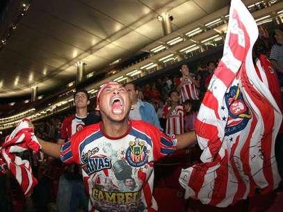 La afición de Chivas siempre fiel. Foto: Mexsport / Terra Networks México S.A. de C.V.