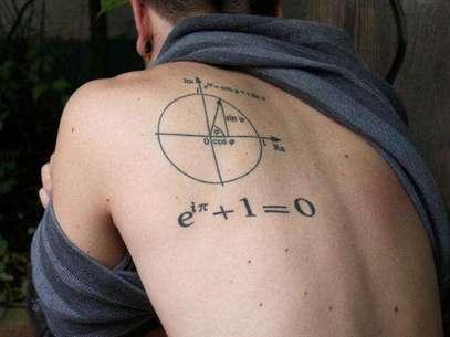 La Identidad de Euler. Foto: fuckyeahtattoos.tumblr.com