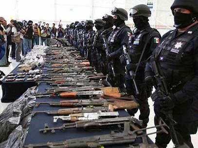 Capturan a miembros de 'La Familia'. Foto: Reforma / Terra Networks México S.A. de C.V.