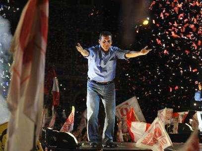 El electo presidente Ollanta Humala Foto: Andina
